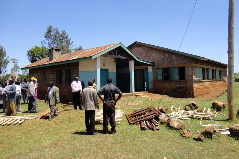 Lwala Childrens Home before Upgrade